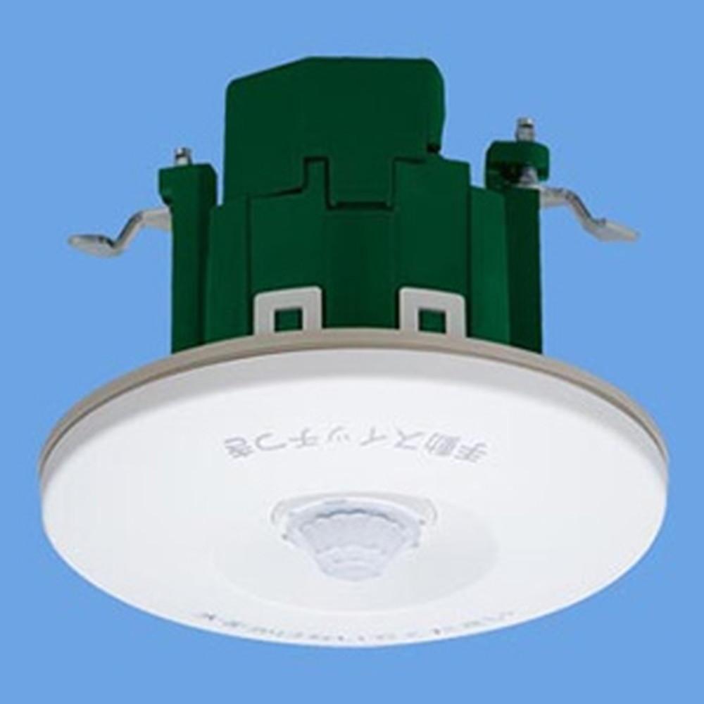 パナソニック 熱線センサ付自動スイッチ親器 《かってにスイッチ》 軒下天井取付 8Aタイプ 広角検知形 200V ホワイト WTK44812K
