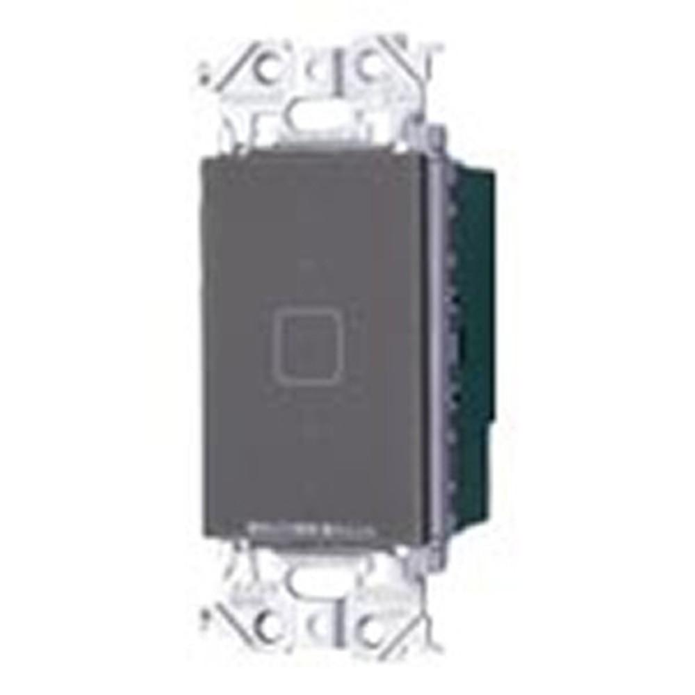 パナソニック タッチLED調光スイッチ 親器・受信器 4線式 適合LED専用3.2A 逆位相タイプ マットグレー WTY54173H