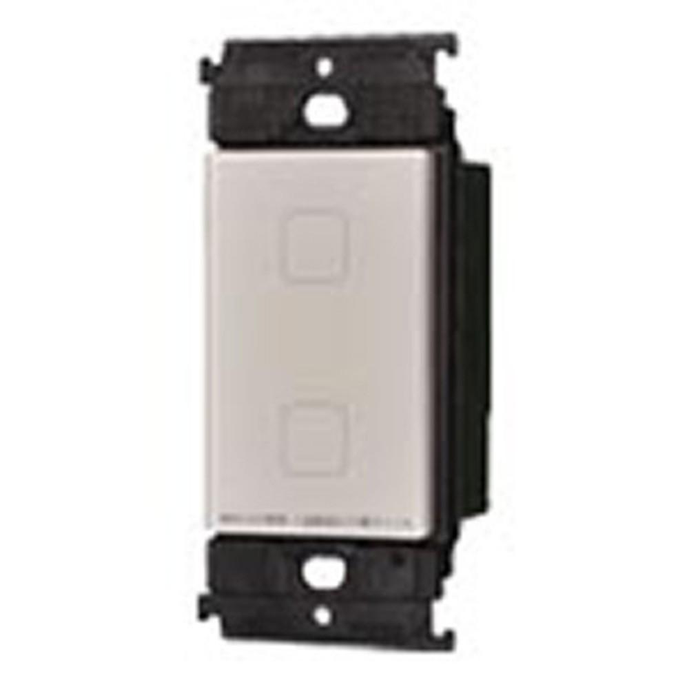 パナソニック タッチLEDお好み点灯ダブルスイッチ 受信器 3線式 適合LED専用1.2A マットベージュ WTY5322F