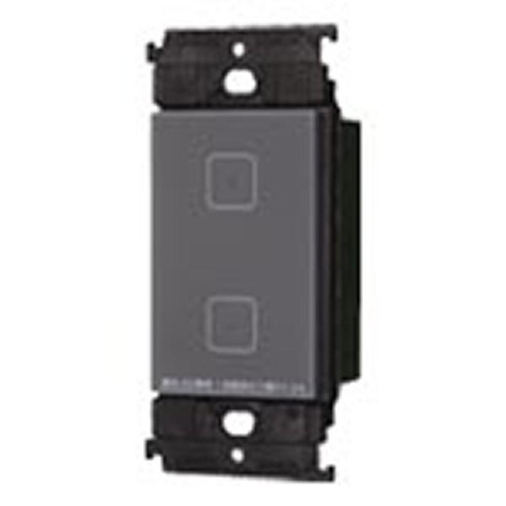 パナソニック タッチLEDお好み点灯ダブルスイッチ 受信器 3線式 適合LED専用1.2A マットグレー WTY5322H