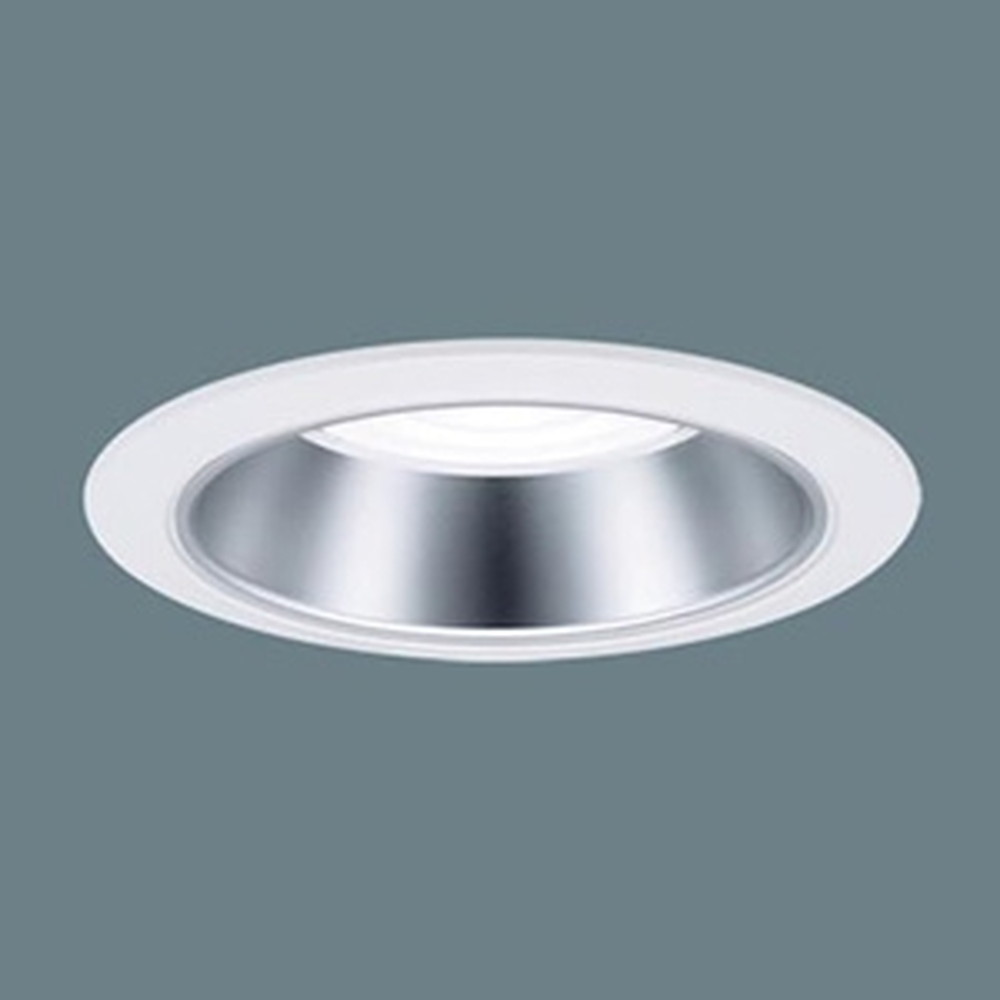 パナソニック LEDダウンライト LED550形 FHT42形×3灯器具相当 埋込穴φ100 調光タイプ 温白色 拡散80° 銀色鏡面反射板 XND5531SVLZ9