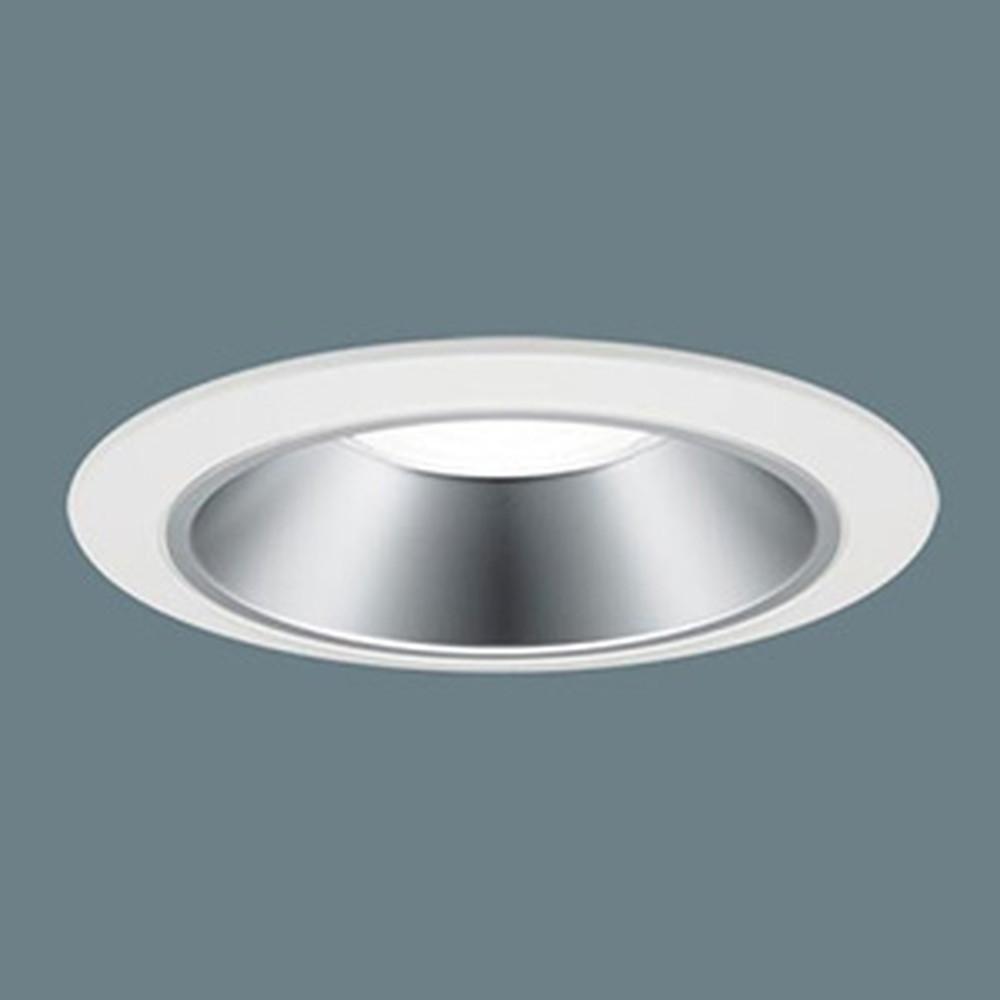 パナソニック LEDダウンライト LED250形 水銀灯100形器具相当 埋込穴φ125 プレーン 白色 拡散85° 銀色鏡面反射板 XND2551SWLE9