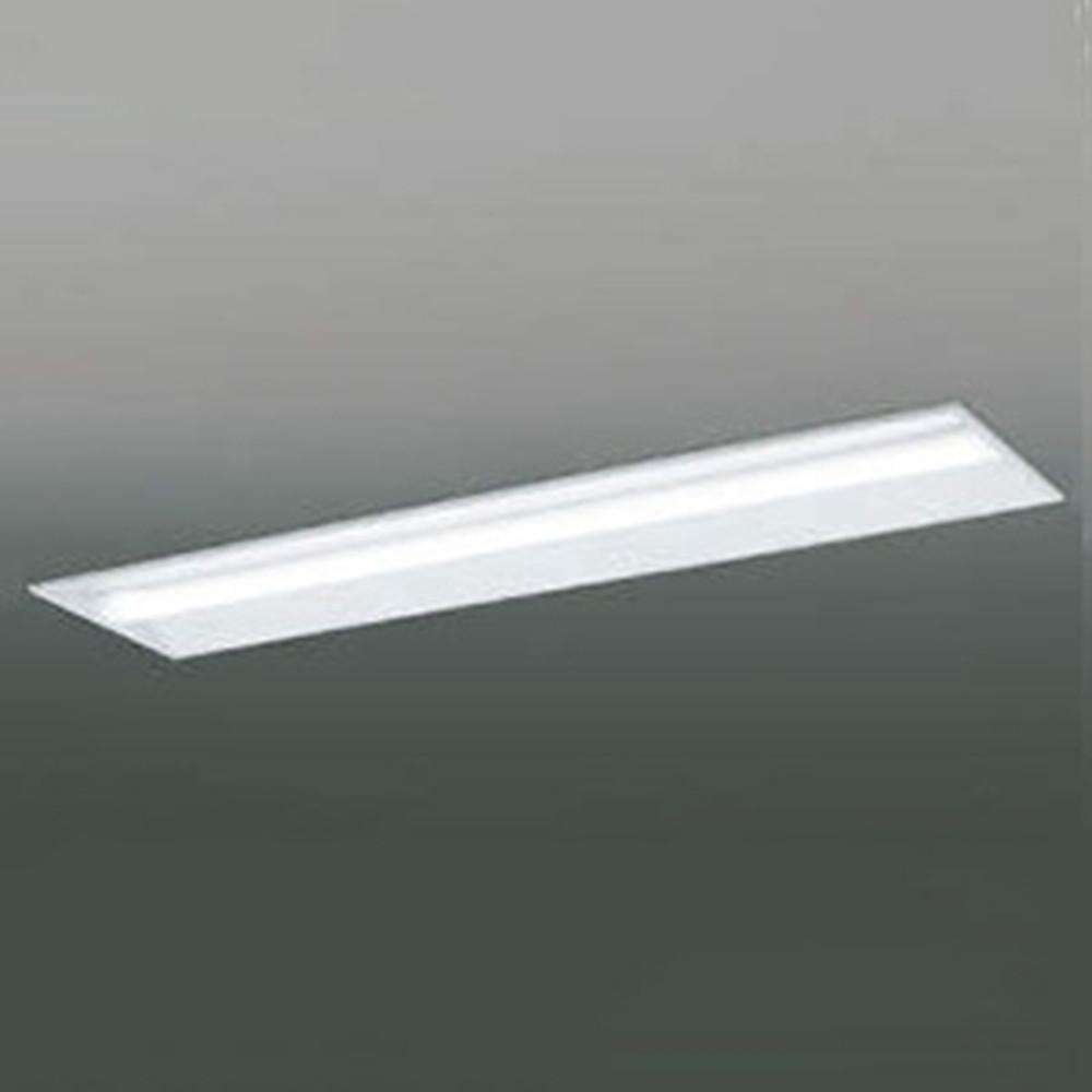 コイズミ照明 LEDユニット搭載ベースライト 《credy ADシリーズ》 40形 埋込型 下面開放 W300 5200lmクラス 非調光タイプ Hf32W×2灯定格出力相当 昼白色 AD92032L+AE49425L