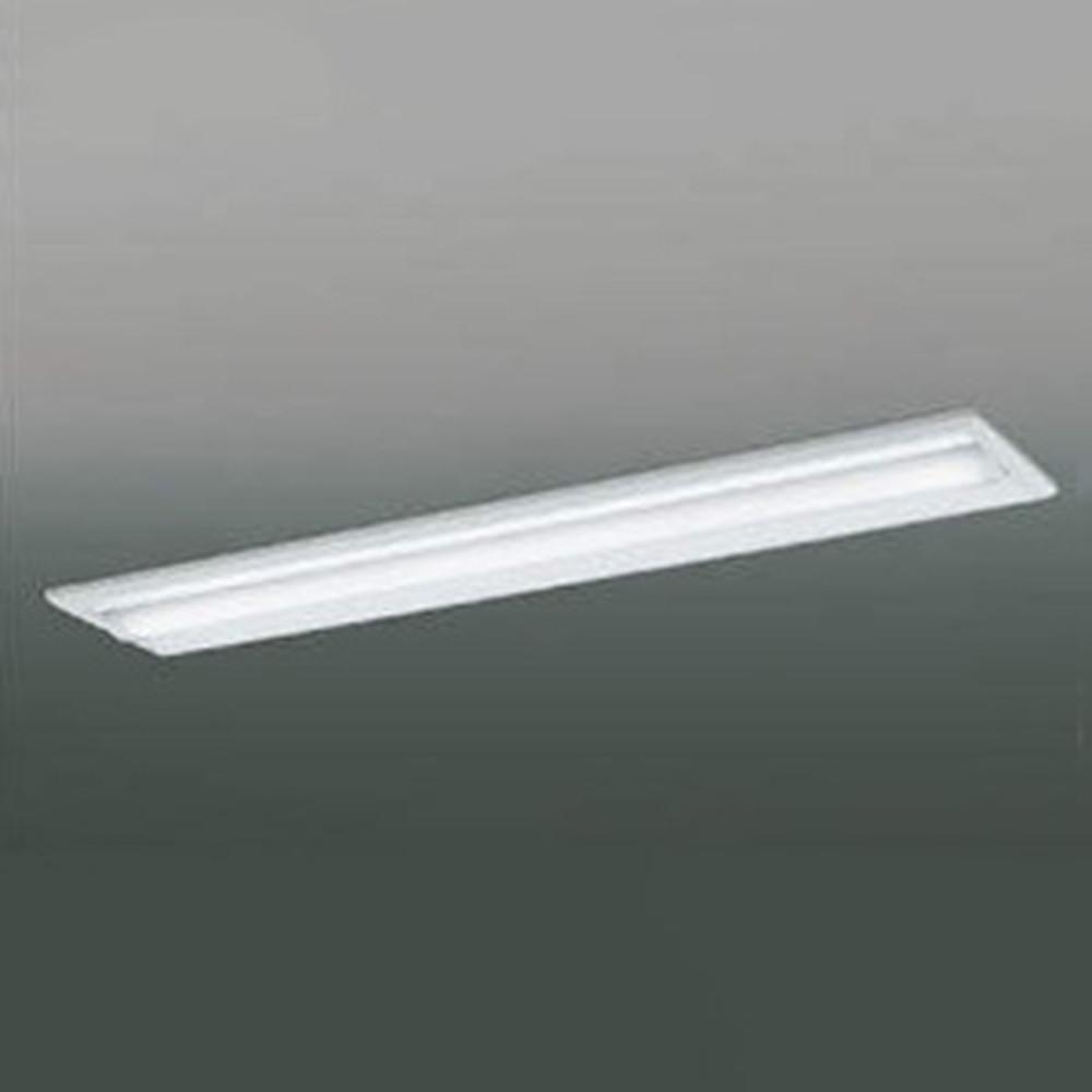 コイズミ照明 LEDユニット搭載ベースライト 《credy ADシリーズ》 40形 埋込型 Cチャンネル回避 5200lmクラス 非調光タイプ Hf32W×2灯定格出力相当 昼白色 AD92036L+AE49425L
