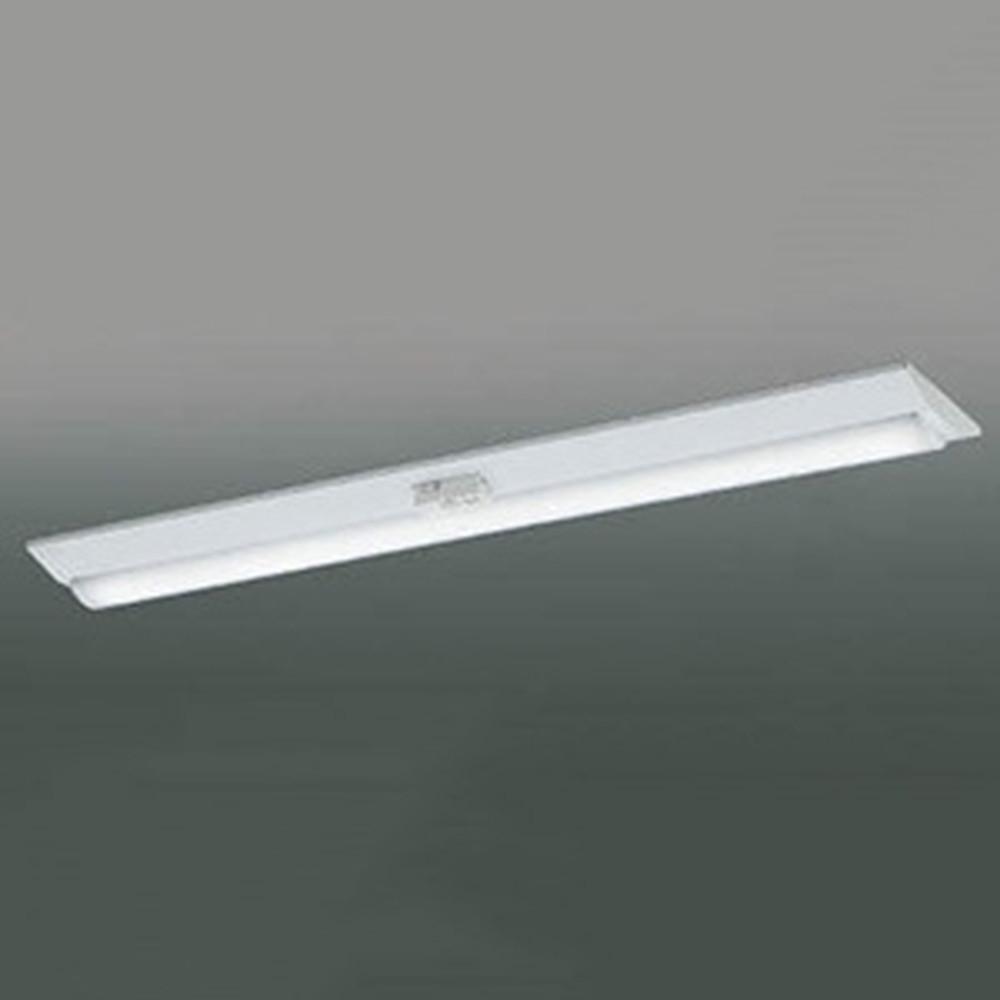コイズミ照明 LEDユニット搭載ベースライト 《credy ADシリーズ》 40形 直付型 逆富士 W230 無線連動式・人感センサ付 4000lmクラス 非調光タイプ FLR40W×2灯相当 昼白色 AH92053L+AE49465L