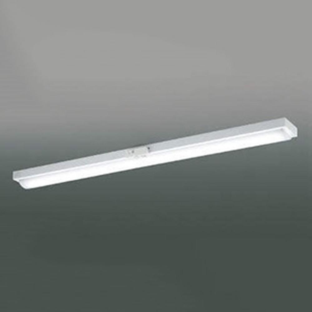 コイズミ照明 LEDユニット搭載ベースライト 《credy ADシリーズ》 40形 直付型 トラフ 無線連動式・人感センサ付 4000lmクラス 非調光タイプ FLR40W×2灯相当 昼白色 AH92054L+AE49465L
