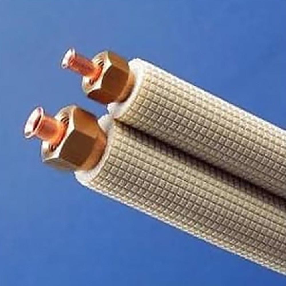 因幡電工 フレア加工済み空調配管セット 2分4分 7m SPH-F247