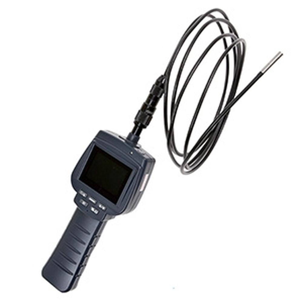 サンコー ポータブル内視鏡スコープ 接写タイプ カメラ先端径φ5.8mm ケーブル長1m 側視ミラー付 LCPRLX1S