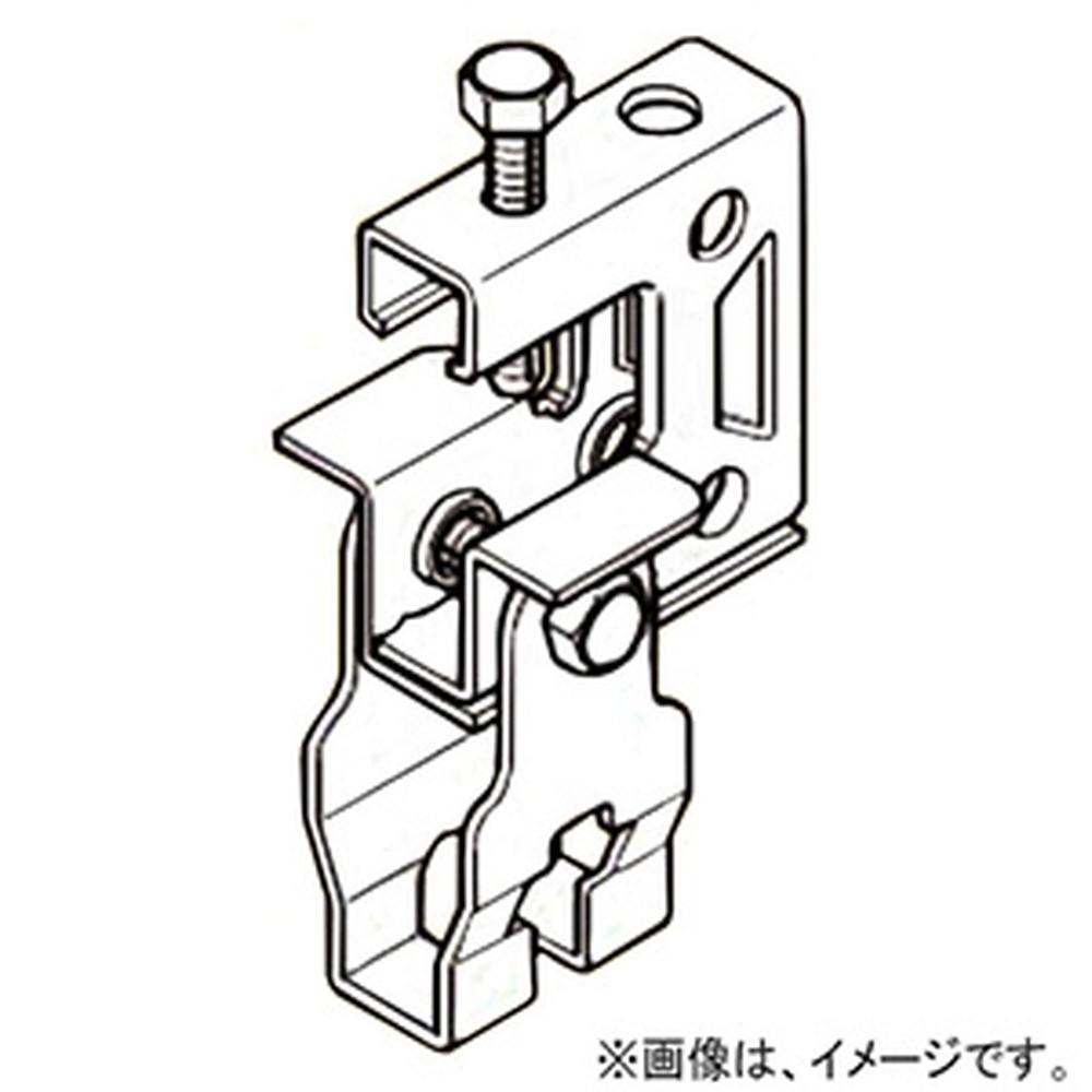 ネグロス電工 【ケース販売特価 50個セット】 一般形鋼・リップみぞ形鋼用吊りボルト支持金具 W3/8・M10 フランジ厚3~24mm 電気亜鉛めっき HB1-W3_set