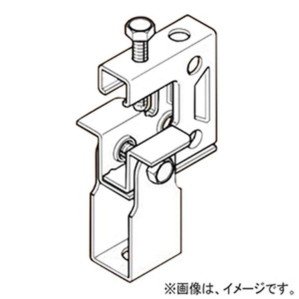 ネグロス電工 【ケース販売特価 50個セット】 一般形鋼・リップみぞ形鋼用吊りボルト支持金具 タップ付タイプ W3/8 フランジ厚3~24mm ステンレス鋼 S-HB1T-W3_set