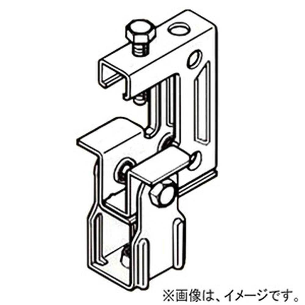 ネグロス電工 【ケース販売特価 50個セット】 一般形鋼用吊りボルト支持金具 タップ付タイプ W3/8 フランジ厚25~40mm ステンレス鋼 S-HB3T-W3_set