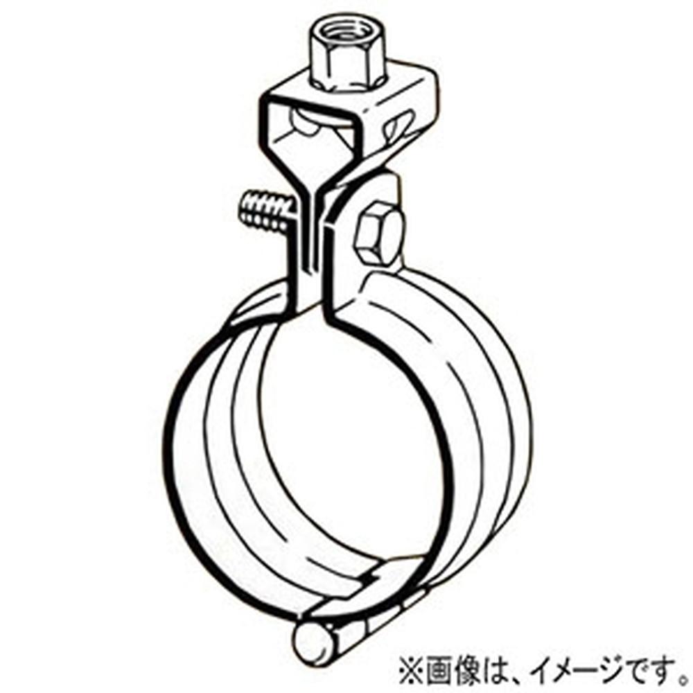 ネグロス電工 【ケース販売特価 30個セット】 配管用鋼管用吊りバンド W1/2 六角M10×30 外径φ139.8mm AKB-125A_set