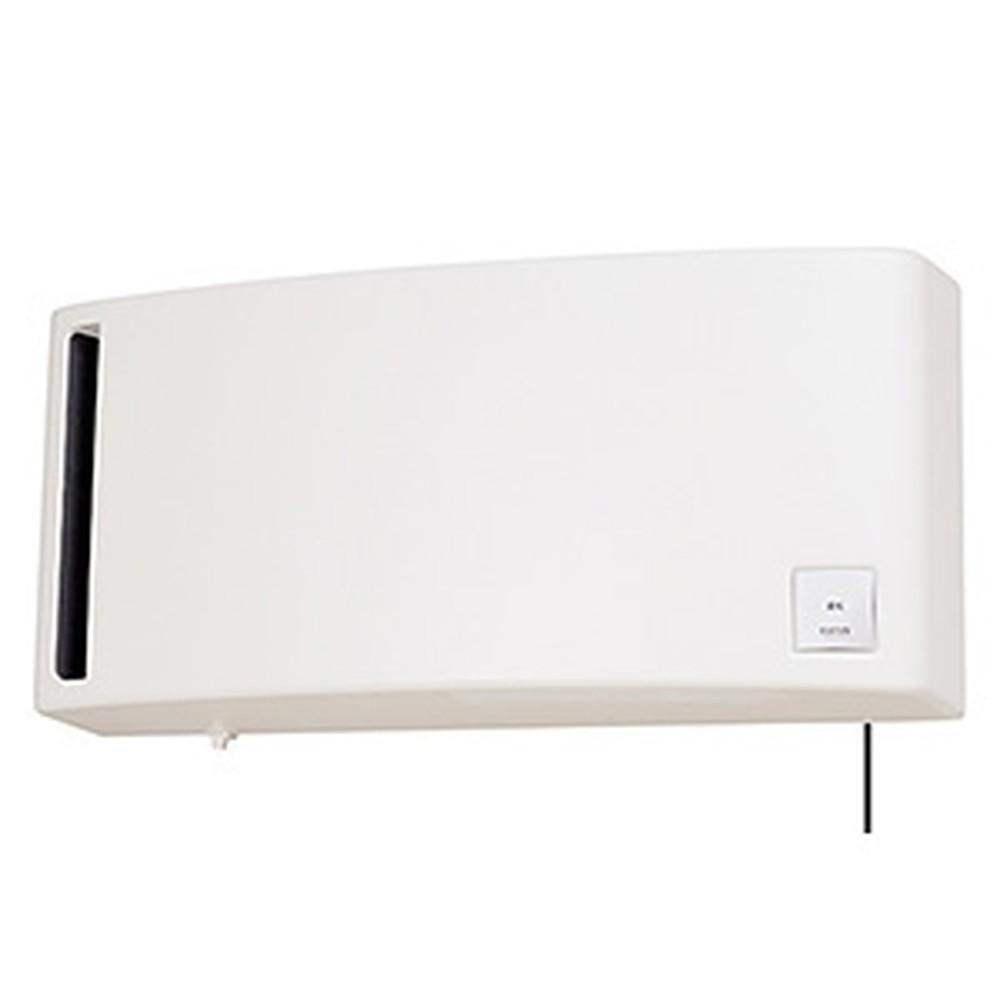 三菱 換気空清機 《ロスナイ®》 冬期結露防止用 排湿タイプ 8畳用 壁掛1パイプ(φ100mm)取付タイプ 引きひもタイプ ホワイト VL-08PS3