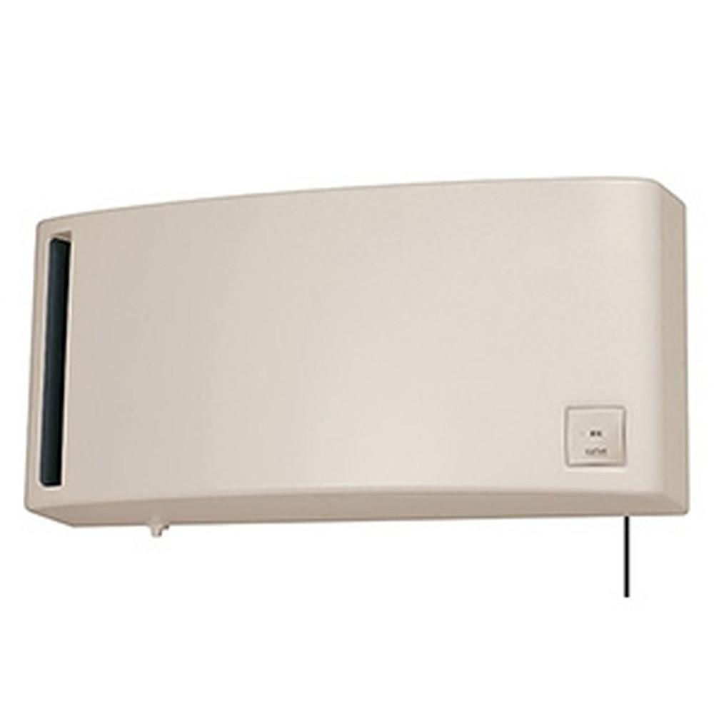 三菱 換気空清機 《ロスナイ®》 冬期結露防止用 排湿タイプ 8畳用 壁掛1パイプ(φ100mm)取付タイプ 引きひもタイプ ベージュ VL-08PS3-BE