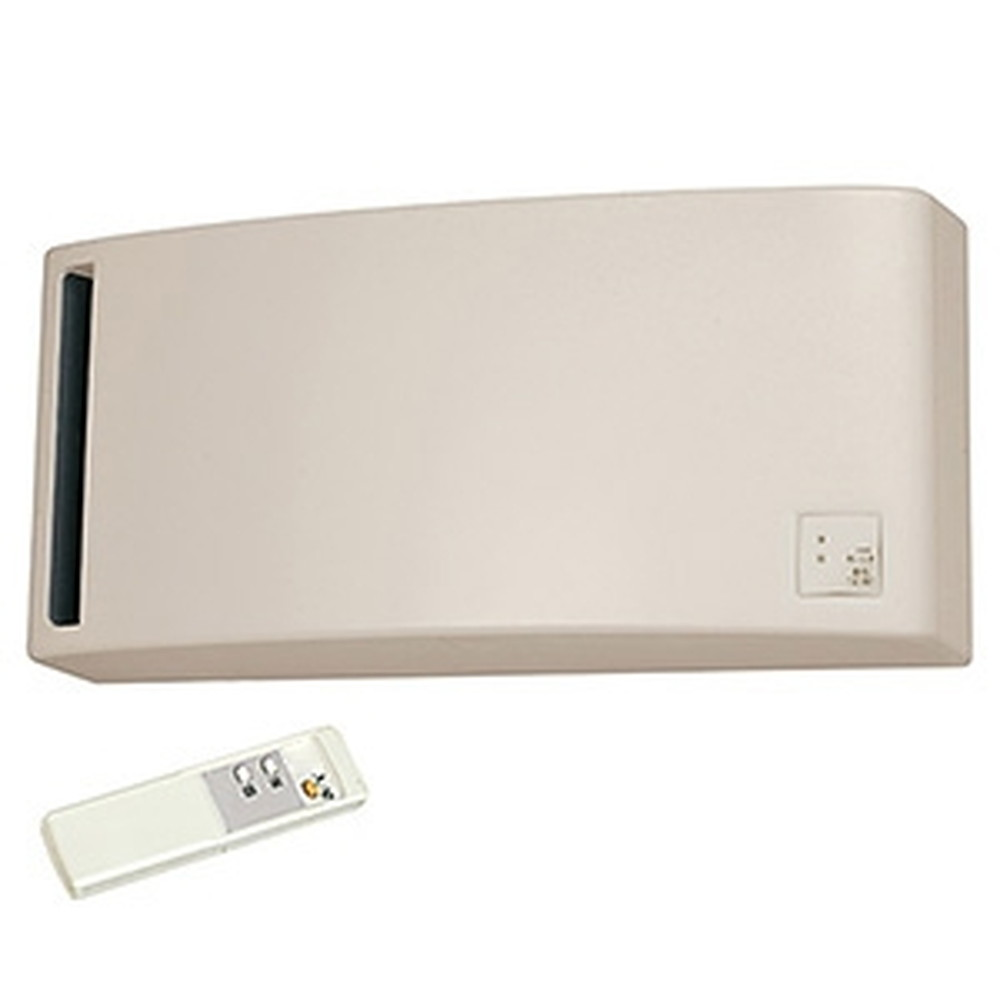 三菱 換気空清機 《ロスナイ®》 冬期結露防止用 排湿タイプ 8畳用 壁掛1パイプ(φ100mm)取付タイプ ワイヤレスリモコンタイプ ベージュ VL-08PSR3-BE