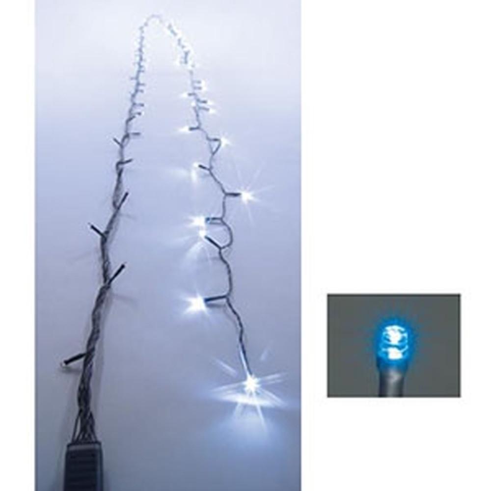 ジェフコム LEDストリングフォール AC-ACアダプタ方式 LED×128個 長さ15m 青 SJ-S05-15BB