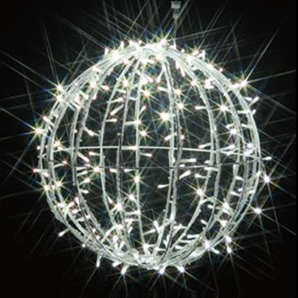 ジェフコム LEDジョイントモチーフ 《ボール(中)》 全点滅タイプ AC-ACアダプタ方式 ケーブル長50cm SJ-D15W-JT