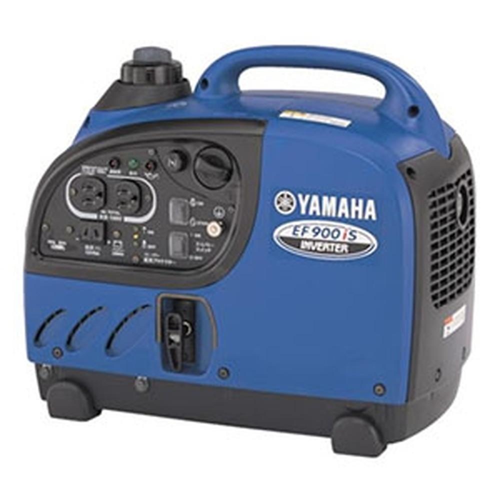 ヤマハ 防音型インバーター発電機 交流直流両用タイプ タンク容量2.5L EF900IS