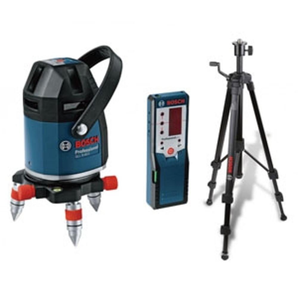 BOSCH レーザー墨出し器セット 電池式 本体+受光器+三脚 GLL8-40ESET