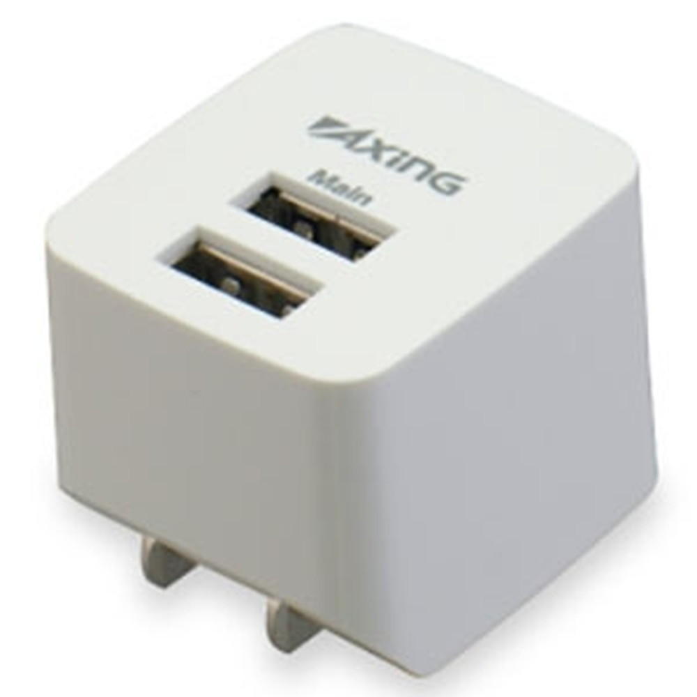 多摩電子工業 AC充電器 SALE USB2ポート 急速充電対応 TA53UW 商い 最大合計2.1A ホワイト