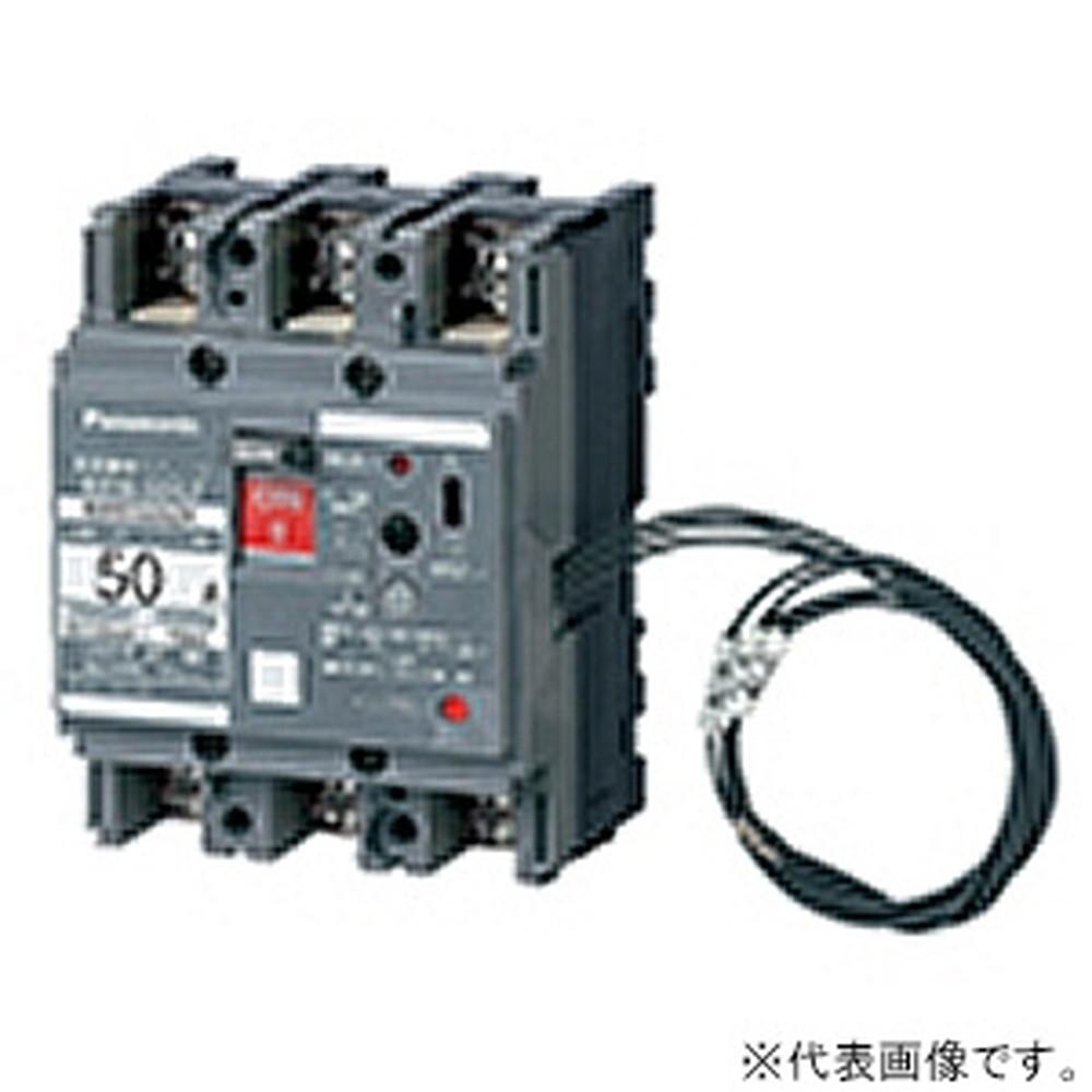 パナソニック 漏電警報付ブレーカ BBW-100Z型 JIS協約形 3P3E 60A 盤用 BBW3601ZK