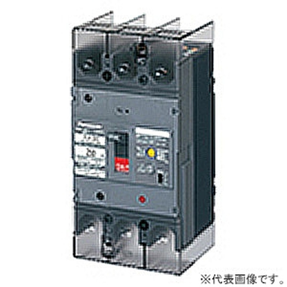 パナソニック 漏電ブレーカ BJW-250型 3P3E 250A O.C付 100/200/500mA切替 ボックス内取付用 端子カバー付 BJW32509K