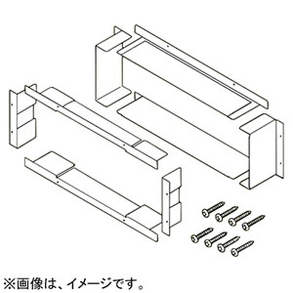 ネグロス電工 中空壁専用補強枠 《タフロック®フレーム》 組立式 開口サイズ610×215mm用 TAFMHW6020