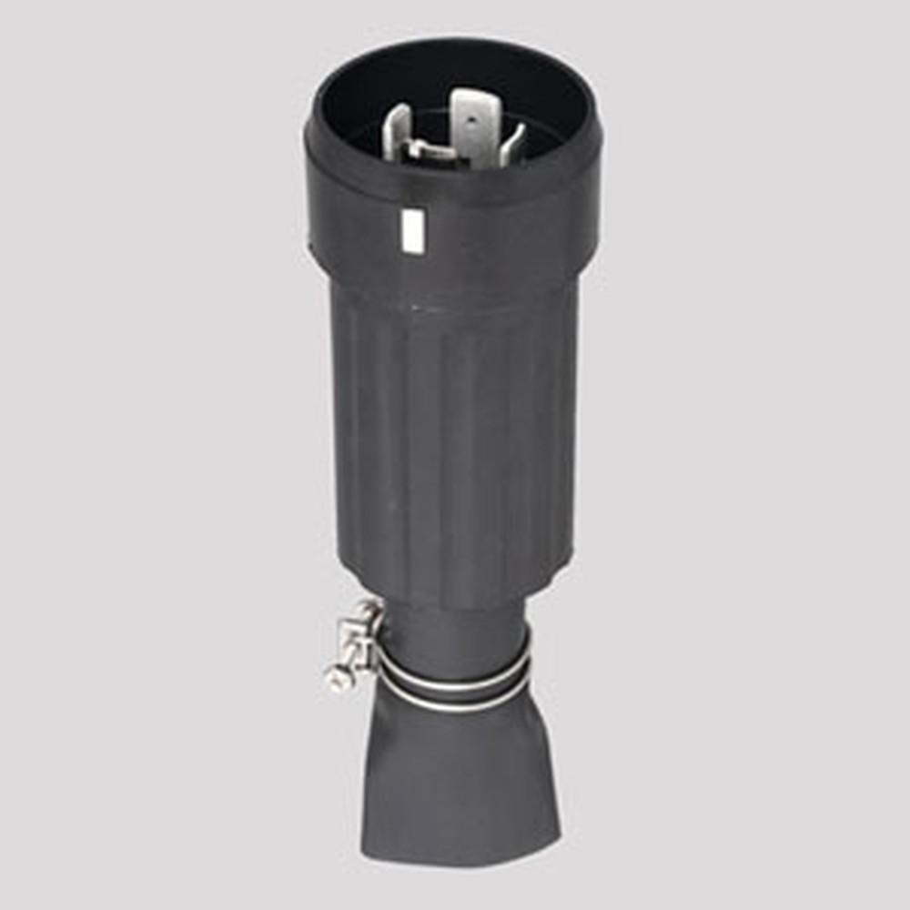 アメリカン電機 防水形プラグ 引掛形 接地形3P 100A 250V 圧着端子式 ゴムカバータイプ 41022RW