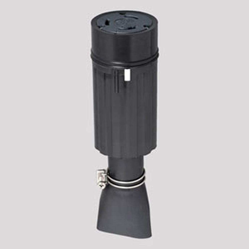 アメリカン電機 防水形コードコネクタボディ 引掛形 3P 100A 250V 圧着端子式 ゴムカバータイプ 31024RW