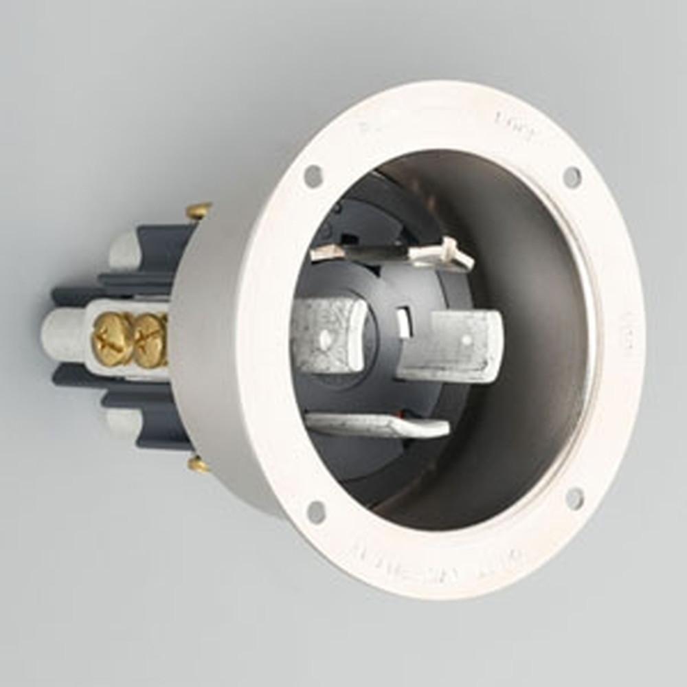 アメリカン電機 フランジインレット 引掛形 接地形3P 100A 600V 圧着端子式 メタルケースタイプ 41065