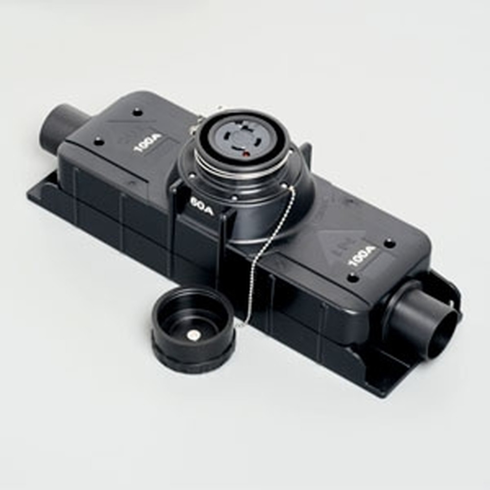アメリカン電機 T型分岐用コネクタボディ 引掛形 入力:接地形3P・100A・600V 出力:接地形3P・60A・600V 圧着端子式 41064ET-60