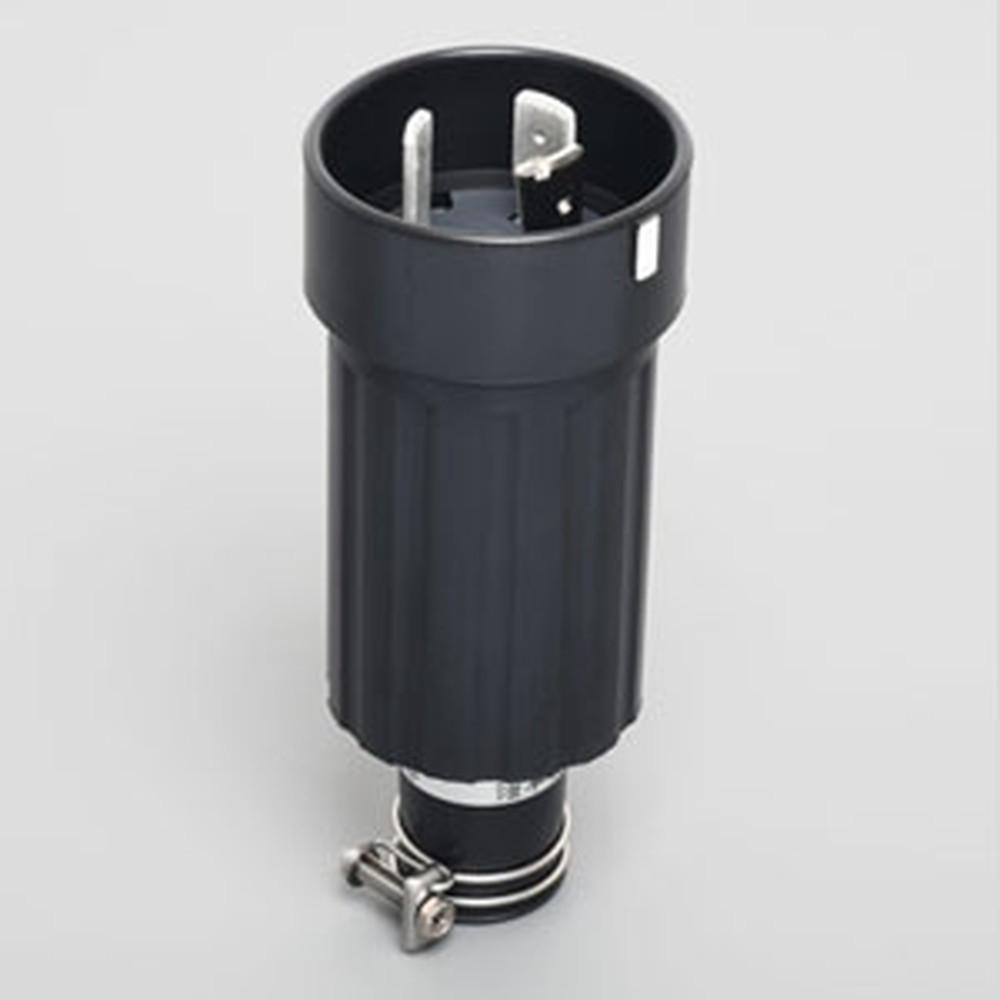 アメリカン電機 さし込みプラグ 引掛形 3P 100A 250V 圧着端子式 ゴムカバータイプ 保護カバー付 31022R