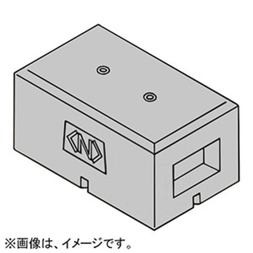 ネグロス電工 架台用基礎ブロック 適合ボルトM10 インサート深さ25mm MKBS1-M10