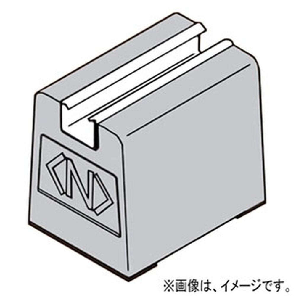 ネグロス電工 屋上露出配管用ブロック 《デーワンブロック®》 H130タイプ 最大積載250kg 長さ600mm ゴムベース付 ステンレス鋼 S-MKBGB6013