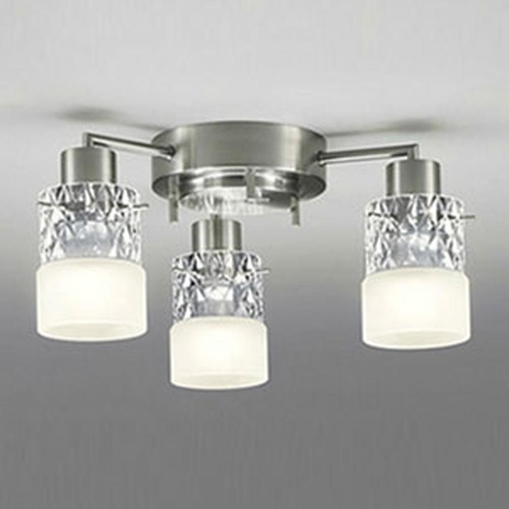 オーデリック LEDシャンデリア 白熱灯100W×3灯相当 電球色⇔昼白色 光色切替調光タイプ OC005012PC