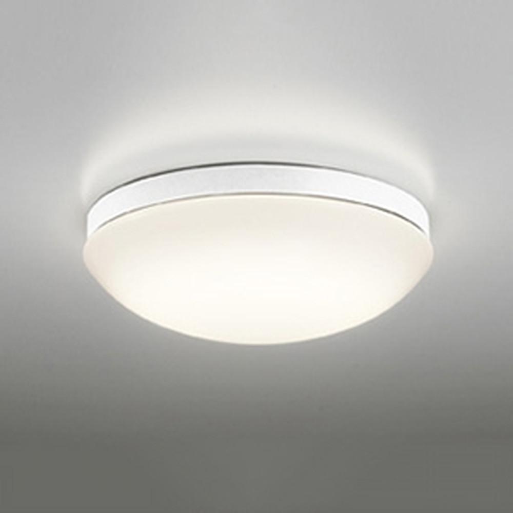 オーデリック LEDバスルームライト 防雨・防湿型 壁面・天井面・傾斜面取付兼用 FCL30W相当 電球色 白 OW269013LD