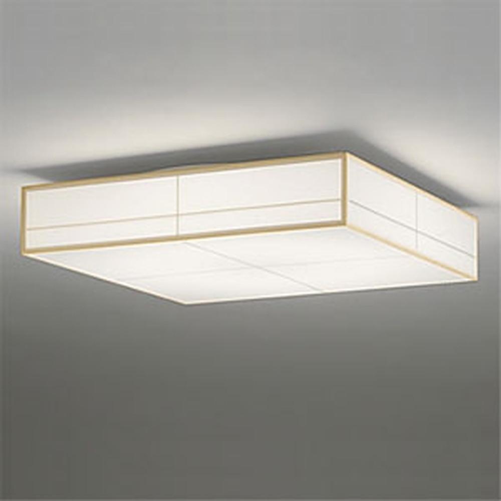 オーデリック LED和風シーリングライト ~10畳用 電球色~昼光色 調光・調色タイプ リモコン付 OL291023