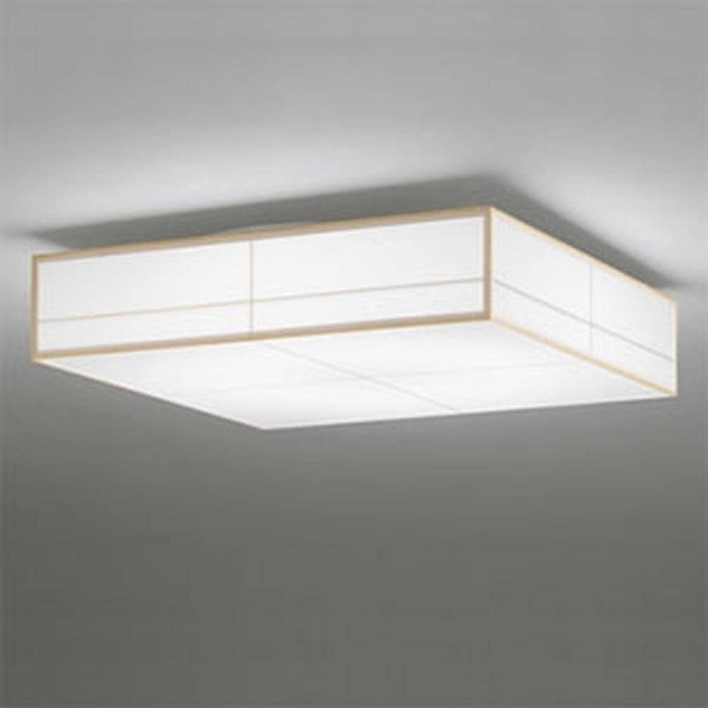オーデリック LED和風シーリングライト ~8畳用 電球色~昼光色 調光・調色タイプ リモコン付 OL291024