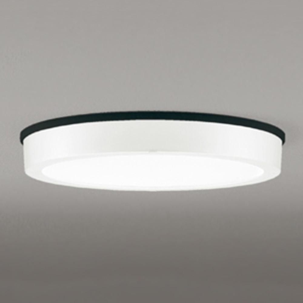 オーデリック LEDシーリングダウンライト 《FLATPLATE》 防雨型 軒下取付専用 FCL30W相当 電球色 オフホワイト OG254808