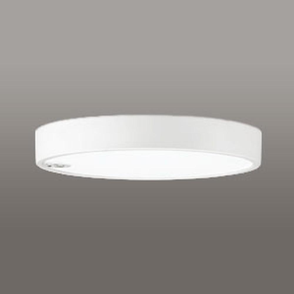 オーデリック LED小型シーリングライト 《FLAT PLATE》 FCL30W相当 温白色 人感センサON-OFF型 非調光タイプ OL251857