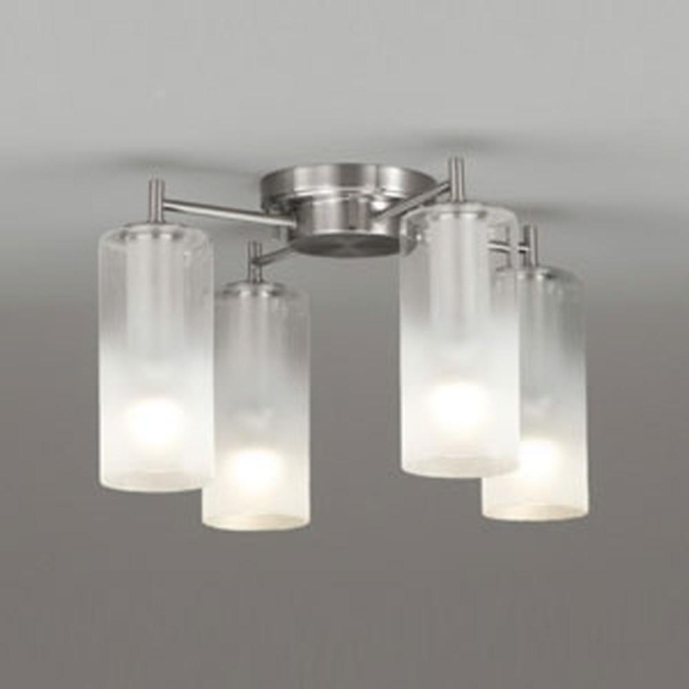 オーデリック LEDシャンデリア 《AQUA Mist》 白熱灯60W×4灯相当 電球色 調光タイプ OC257114LC