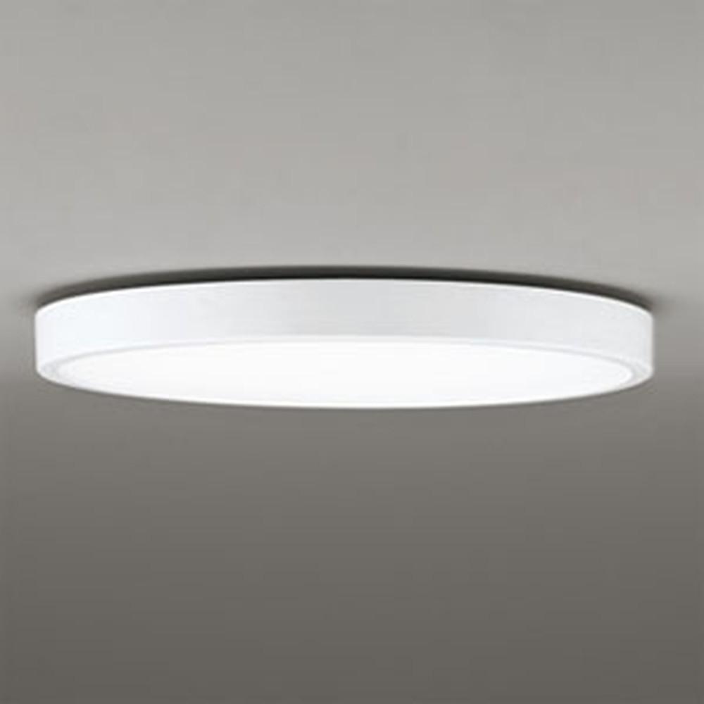 オーデリック LEDシーリングライト 《FLAT PLATE》 ~6畳用 電球色~昼光色 調光・調色タイプ Bluetooth®対応 オフホワイト色 OL291365BC