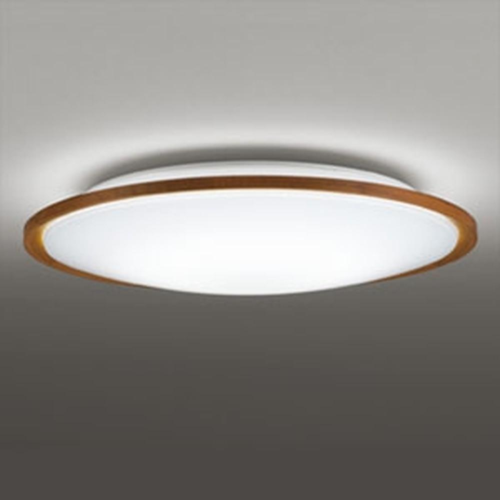 オーデリック LEDシーリングライト ~12畳用 電球色~昼光色 調光・調色タイプ リモコン付 チェリー色 OL291321