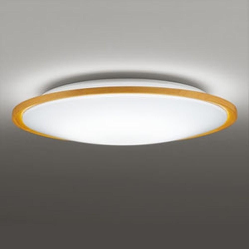 オーデリック LEDシーリングライト ~8畳用 電球色~昼光色 調光・調色タイプ リモコン付 ナチュラル色 OL291327
