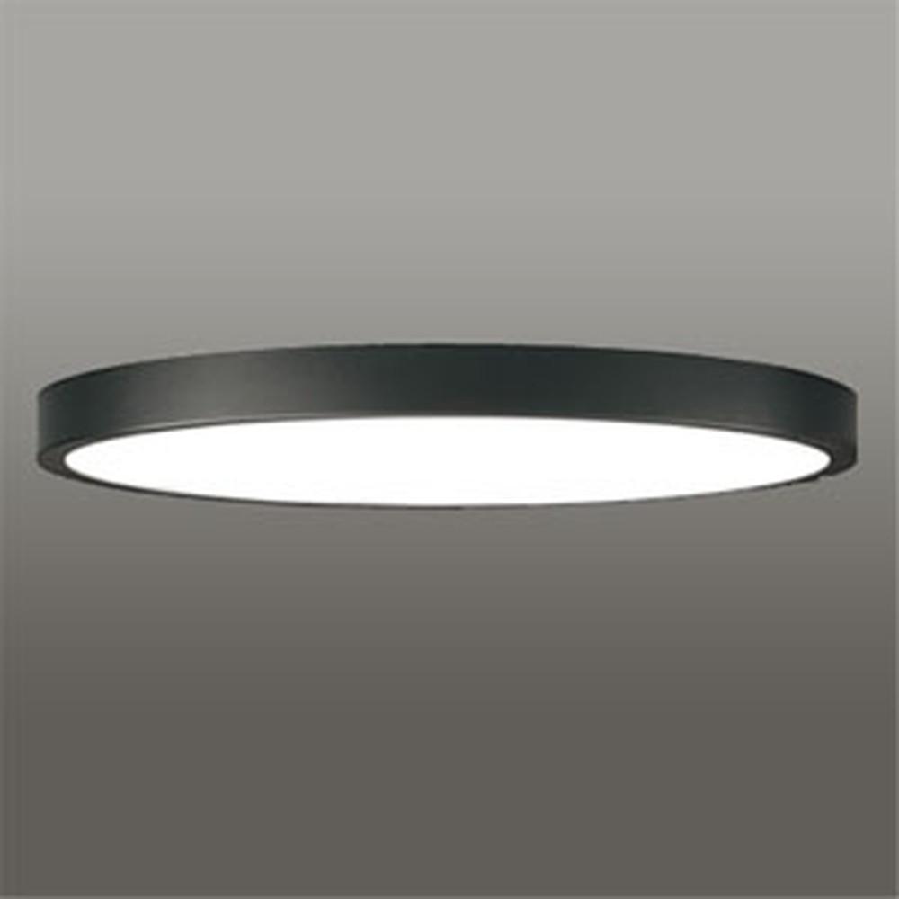 オーデリック LEDシーリングライト 《FLAT PLATE》 ~10畳用 電球色~昼光色 調光・調色タイプ Bluetooth®対応 黒色 OL291414BC