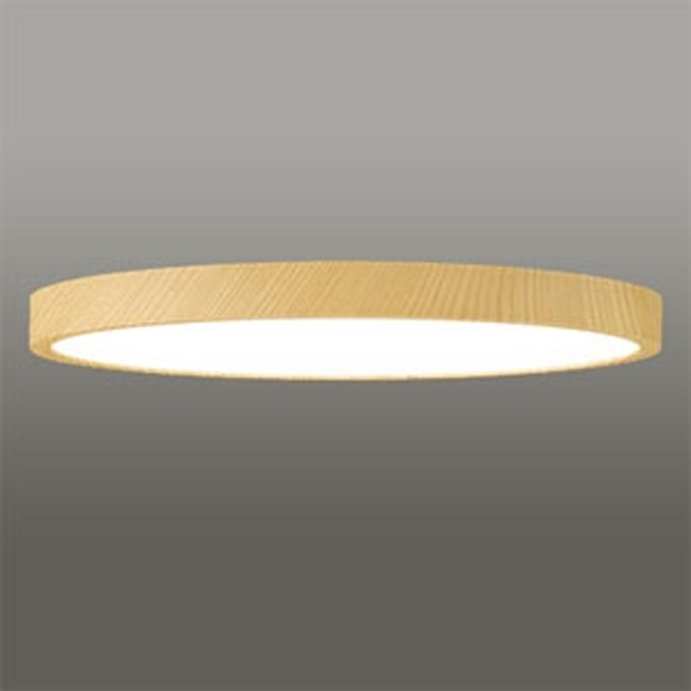 オーデリック LEDシーリングライト 《FLAT PLATE》 ~10畳用 電球色~昼光色 調光・調色タイプ Bluetooth®対応 木調ナチュラル色 OL291418BC