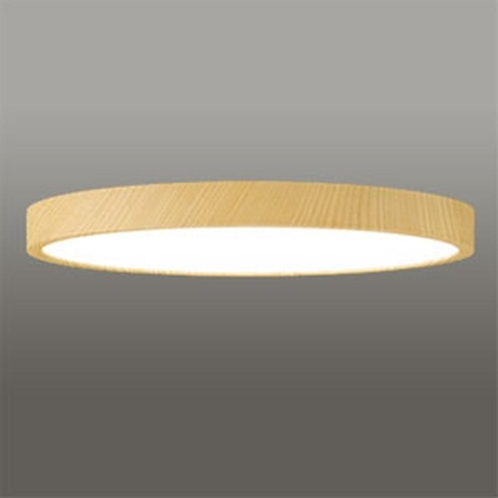 オーデリック LEDシーリングライト 《FLAT PLATE》 ~8畳用 電球色~昼光色 調光・調色タイプ Bluetooth®対応 木調ナチュラル色 OL291419BC