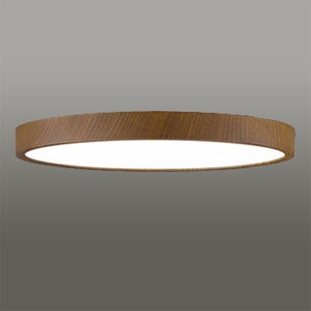 オーデリック LEDシーリングライト 《FLAT PLATE》 ~6畳用 電球色~昼光色 調光・調色タイプ Bluetooth®対応 木調ウォールナット色 OL291424BC