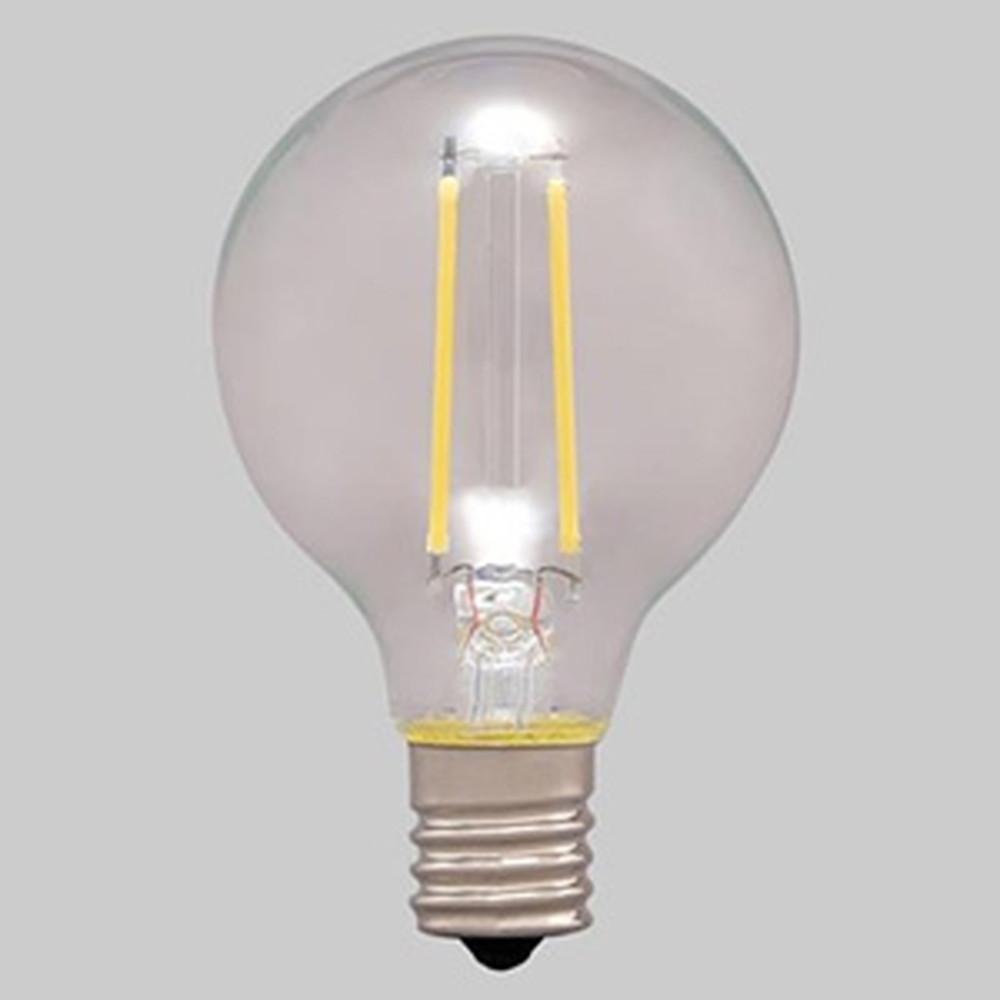 アイリスオーヤマ 【ケース販売特価 24個セット】 LEDフィラメント電球 ミニボール電球タイプ ボール電球25形相当 全方向タイプ 密閉形器具対応 昼白色 E17口金 LDG2N-G-E17-FC_set