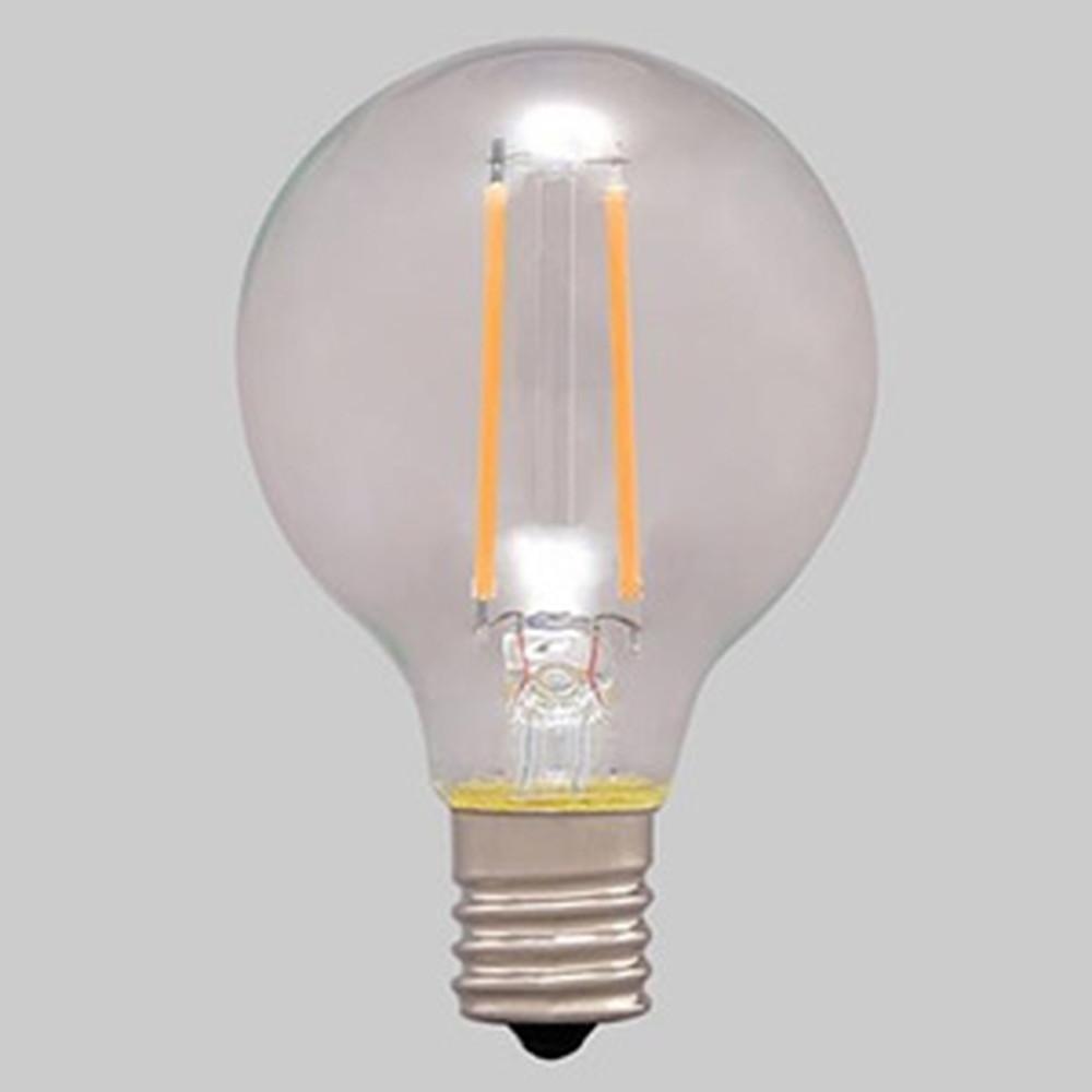 アイリスオーヤマ 【ケース販売特価 24個セット】 LEDフィラメント電球 ミニボール電球タイプ ボール電球25形相当 全方向タイプ 密閉形器具対応 電球色 E17口金 LDG2L-G-E17-FC_set
